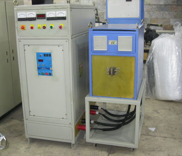 100 KW IGBT Induction Heater with Trolley Mounted Matching Transformer