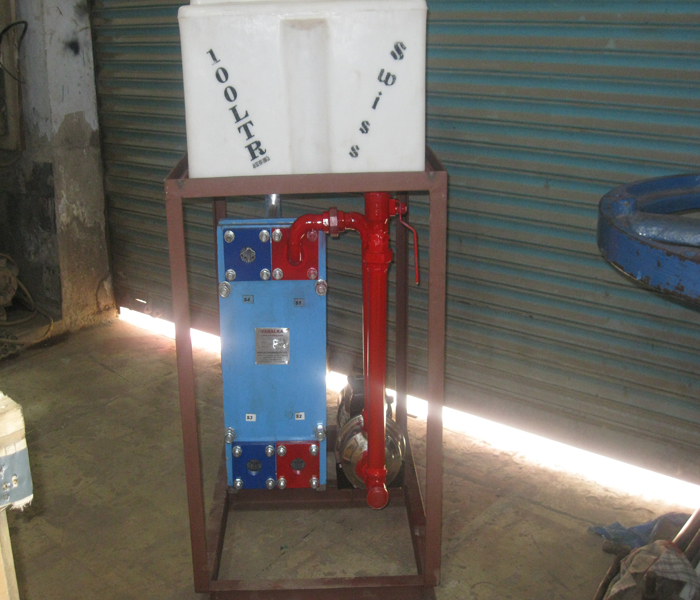DM Water Unit with Plate Type HE