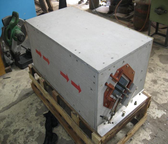 Heating Coil for Railway Track Section