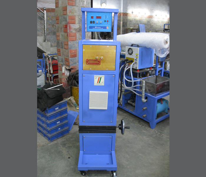 Free Standing On Line Induction Heater