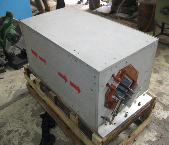 RCS billet heating coil of 250 KW capacity
